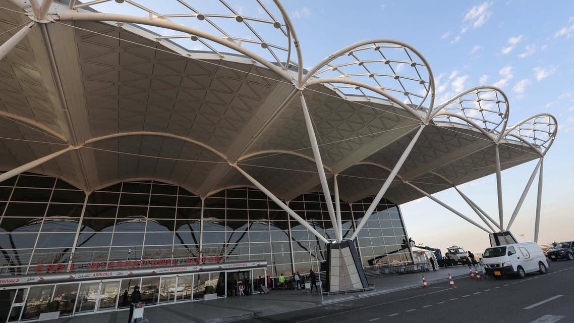 التحالف الدولي يقيم نظاماً دفاعياً لحماية مطار اربيل من المسيرات