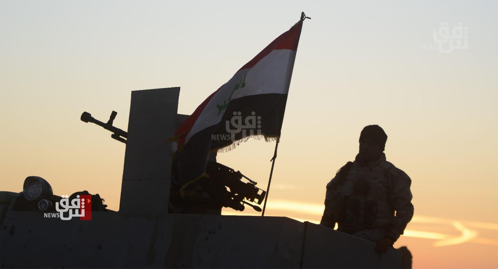 کوشیان ئەفسەریگ لە سوپای عراق وە پەلاماریگ چەکدار