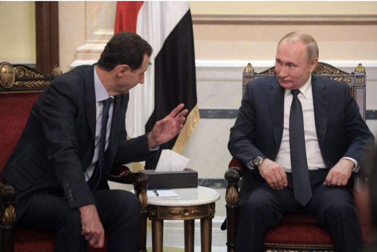 After meeting al-Assad, Putin self-isolates for COVID-19 suspicion