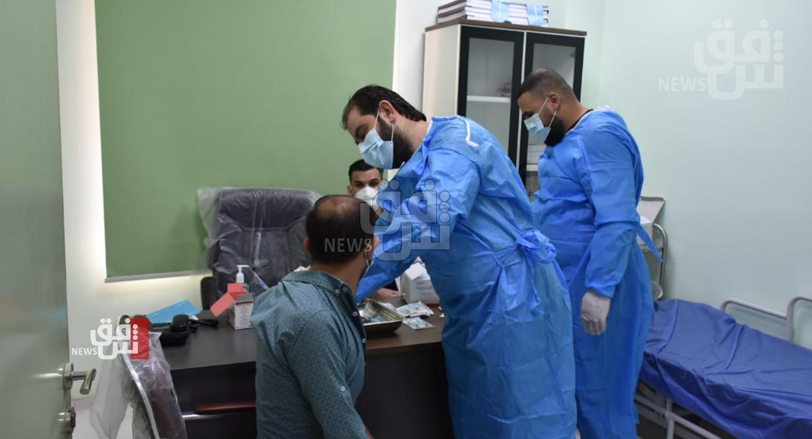 تراجع ملحوظ في الوفيات والاصابات بكورونا في العراق