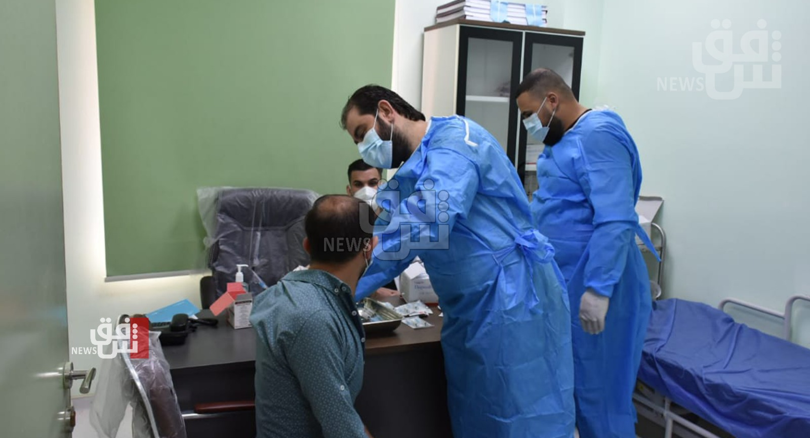 COVID-19: 4,400 new confirmed cases and 46 mortalities in Iraq today