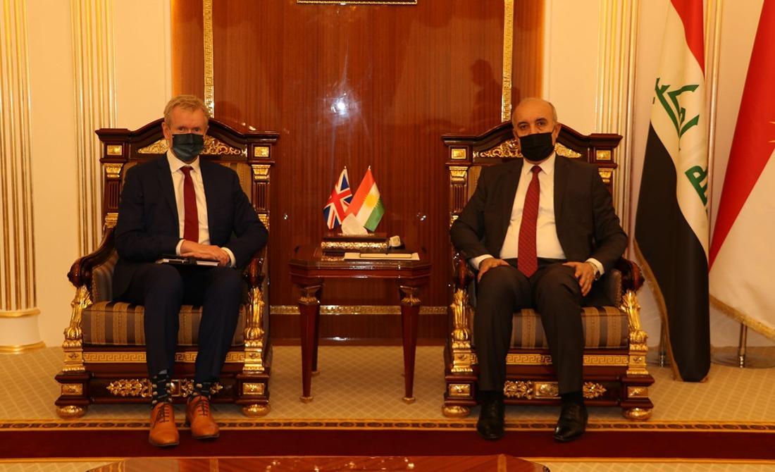 بريطانيا تُقدّم طلباً رسمياً للمشاركة في مشاريع إنتاج الكهرباء في إقليم كوردستان