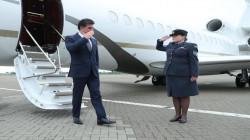 Kurdistan's President arrives in London