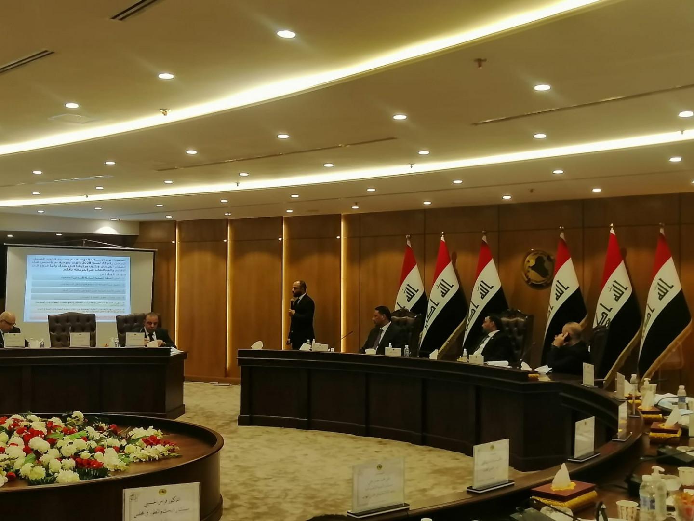 """اجتماع تشاوري في البرلمان العراقي لتطبيق قانون """"معلّق"""""""