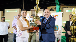 اختتام بطولة أندية العراق للسلة في الفلوجة