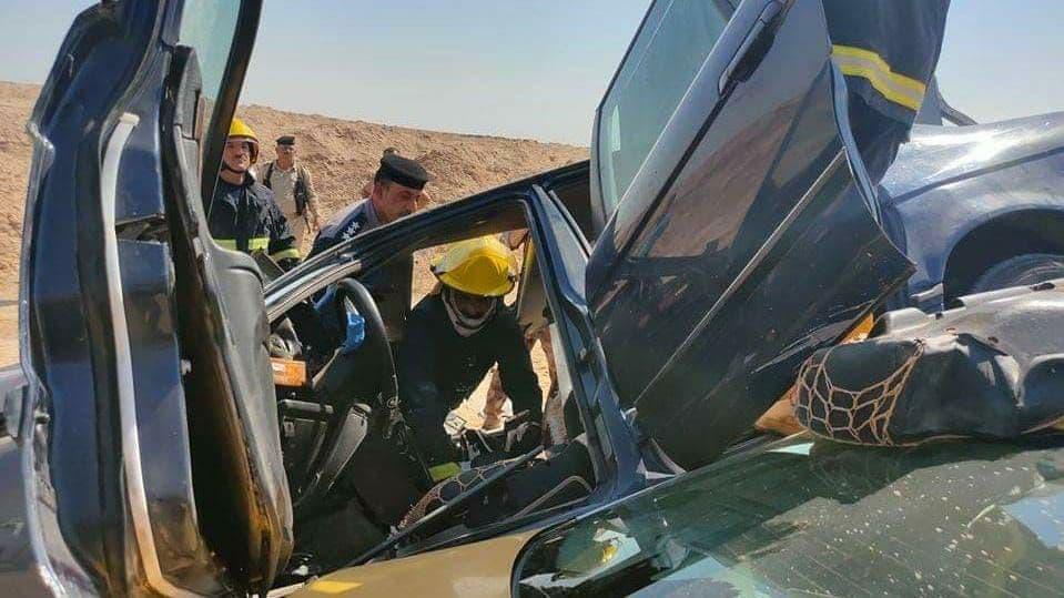 مصرع وإصابة ٥ مدنيين بحادث سير في صلاح الدين