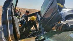 حادث سير مروع يفتك بأفراد عائلة في واسط