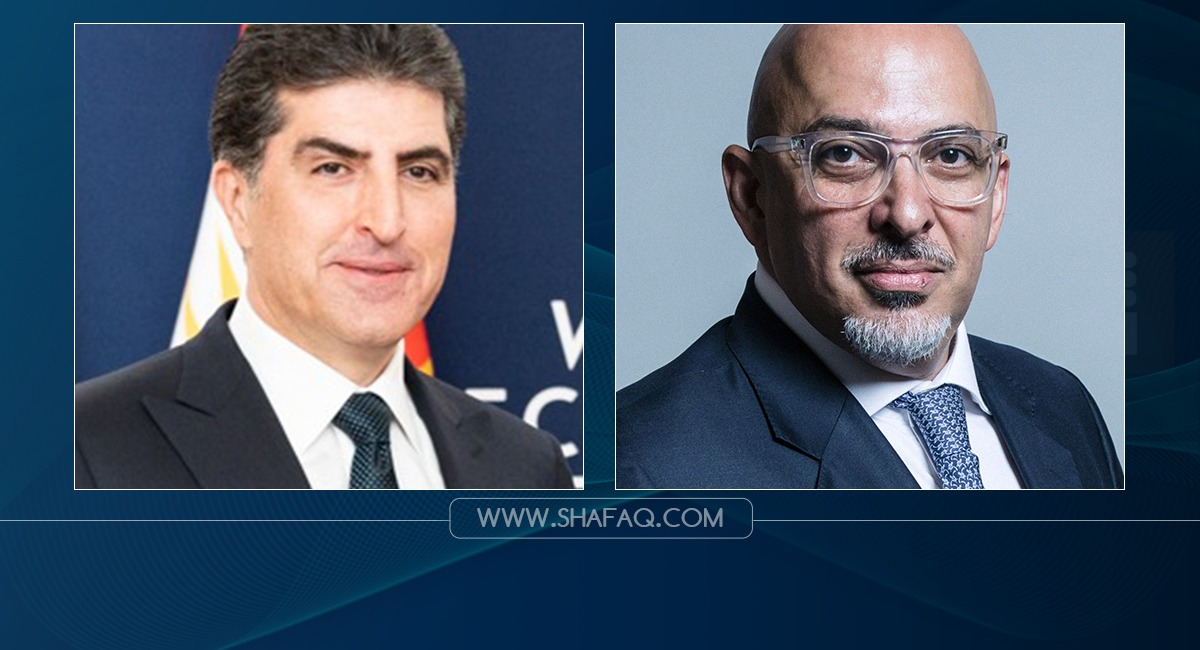 President Barzani congratulates Zahawi for his appointment as UK's Minister of Education