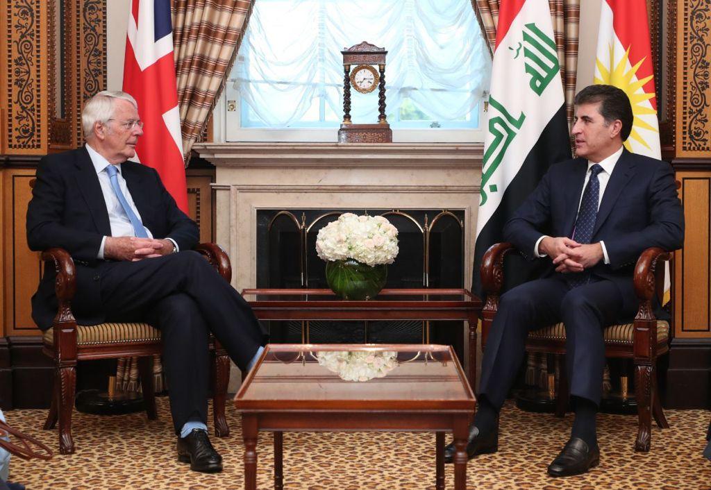 "Barzani meets with ""the friend of the Kurdistan people"""
