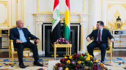 مباحثات بين رئيس الجمهورية ورئيس حكومة اقليم كوردستان