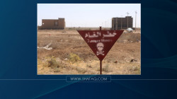 Civil Defense teams launch an operation to dismantle ISIS explosives in al-Anbar