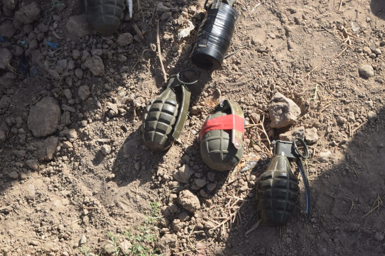 EOD squads thwart a bomb attack in Baghdad