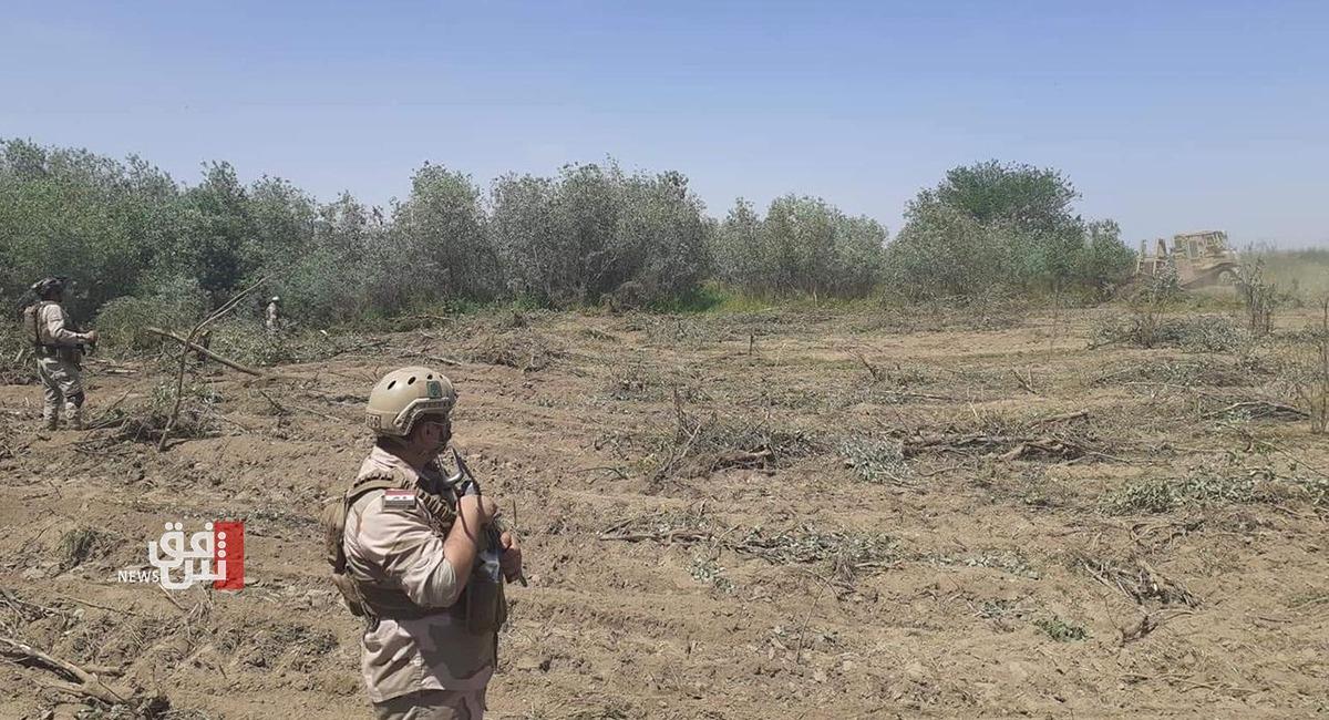 إصابة أربعة مزارعين بانفجار ناسفة شرق تكريت