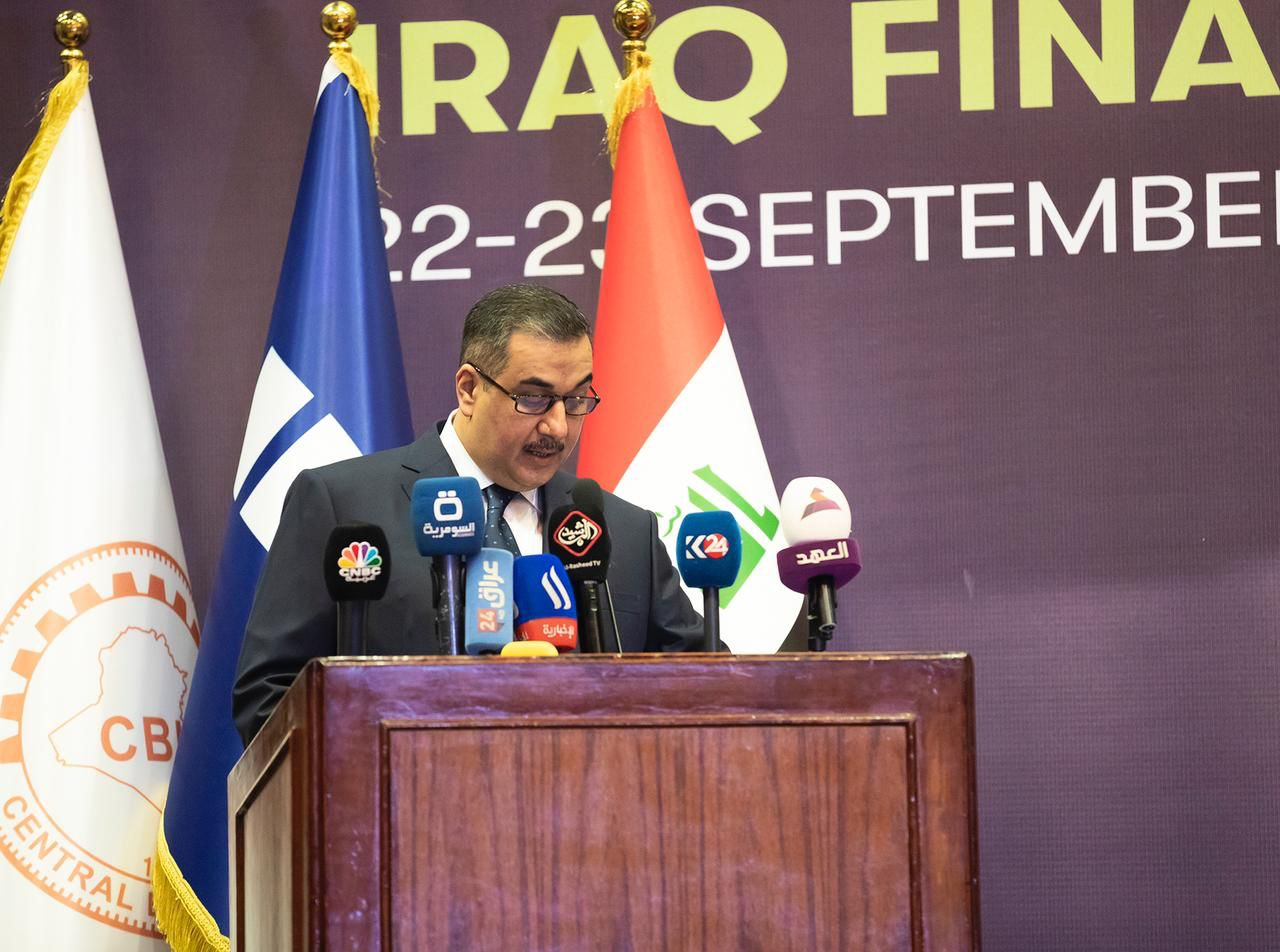 The Central Bank of Iraq deducts treasury transfers to finance the Ministry of Finance