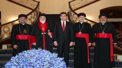 President Barzani receives the Patriarch of Assyrian Church of the East