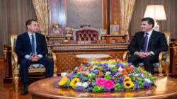 President Barzani hosts the new French ambassador to Iraq