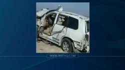 8 ضحايا ومصابين بحادث مروري مروع في ديالى