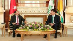 President Barzani meets Turkey's Minister of Commerce