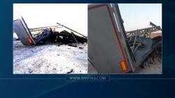 انفجار منصة لإطلاق الصواريخ شمالي صلاح الدين