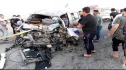 """اصابة 5 مدنيين بحادث سير على """"طريق الموت"""" بين ديالى وكركوك"""