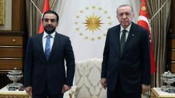 """أردوغان يلتقي بـ""""الغريمين"""" الحلبوسي والخنجر في أنقرة"""