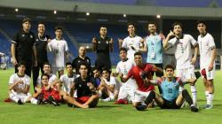 الاولمبي العراقي يواجه الإمارات غداً بالقميص الأخضر