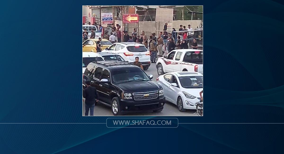 Clashes between Saraya al-Salam and Asaib Ahl al-Haq in Najaf