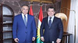 PM Barzani congratulates al-Kadhimi for the success of the elections