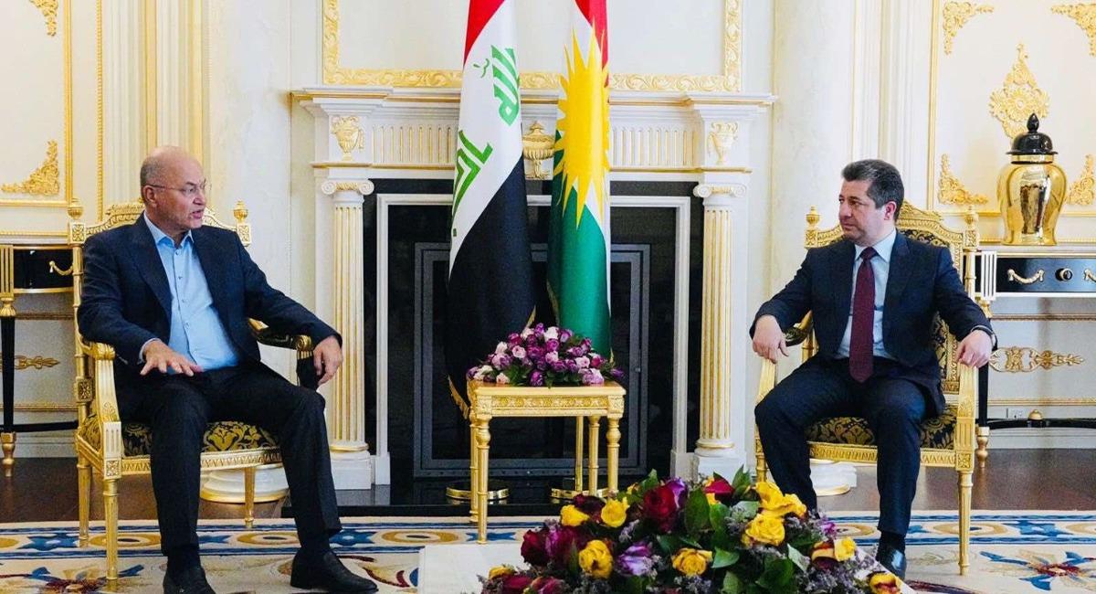 PM Barzani receives phone call from Iraqi President