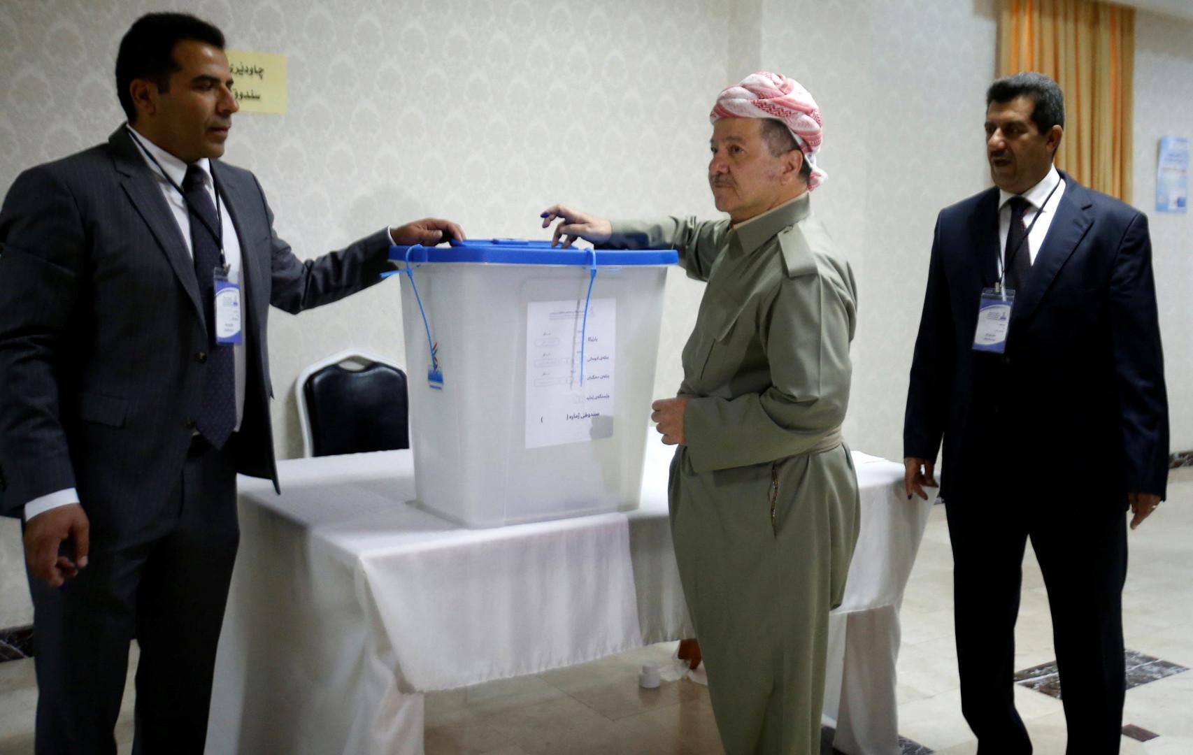 """Masoud Barzani lauds Iraq's """"successful"""" elections"""