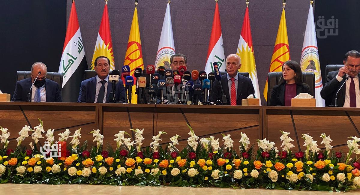 الديمقراطي الكوردستاني يعلن بدء المشاورات مع القوى السياسية العراقية الفائزة بالانتخابات