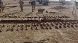 صور .. الاستيلاء على مصنع للقذائف والمتفجرات وضبط منصات صواريخ في نينوى