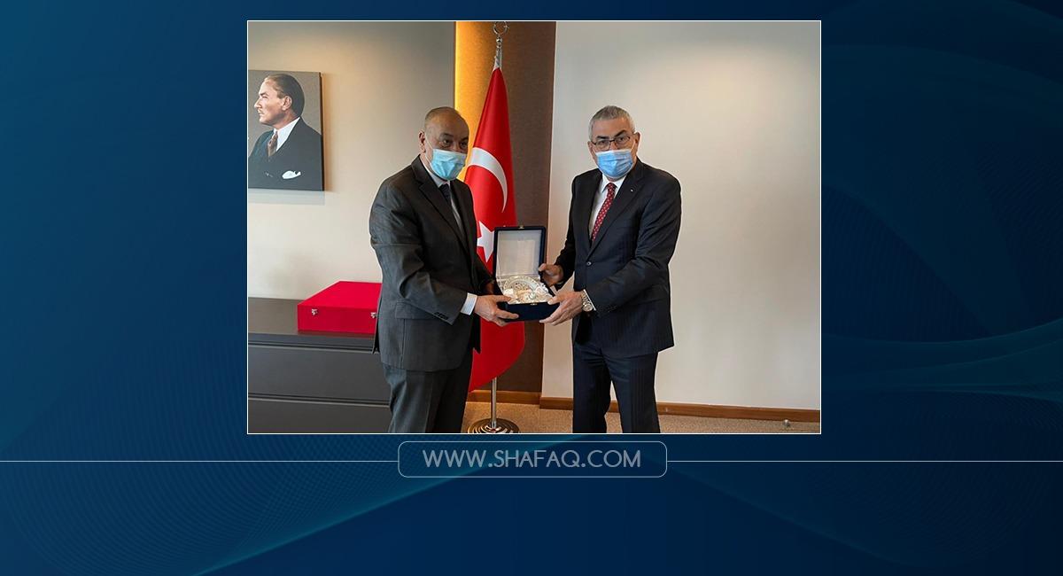 اتفاقية تعاون رياضي مشترك بين الاولمبيتين العراقية والتركية
