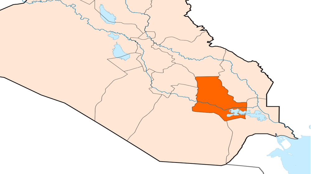 Explosive device blew up northern Dhi Qar