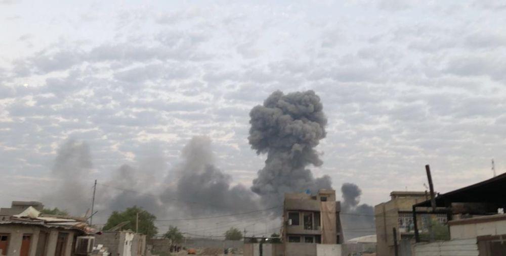 حصري.. كشف نتائج التحقيق بقصف معسكر صقر في بغداد