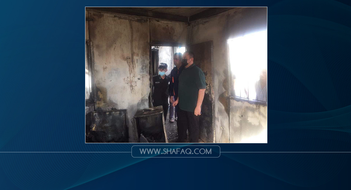 اندلاع حريق في مخيم للاجئين السورية بدهوك