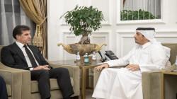 Kurdistan's President starts his official meetings in Qatar