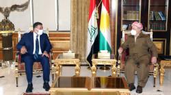 Masoud Barzani discusses the post-election phase with Khamis al-Khanjar