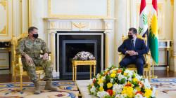 مسرور بارزاني لقائد عسكري أمريكي: استقرار العراق إيجابي لأمن المنطقة