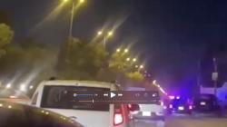 فيديو.. إطلاق نار وقطع طريق قرب كلية الفارابي في بغداد