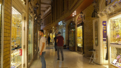 Gold prices inched up in the Iraqi capital