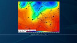 العراق .. انخفاض واضح بدرجات الحرارة الأسبوع المقبل وتساقط للامطار نهاية الشهر وبدايته