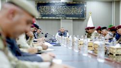 الكاظمي يلتقي قيادات عسكرية وأمنية ويصدر 12 توجيهاً