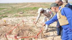 مسؤول حكومي: 60% من مناطق بيجي مليئة بالألغام ومخلفات داعش