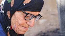 صور.. مُسنّة في السليمانية تتوصل لعلاج مرضها بنفسها