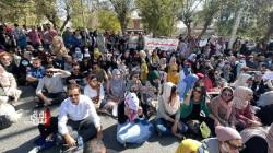 تظاهرات المحاضرين تدخل أسبوعها الثاني في 4 مدن كوردستانية (صور)