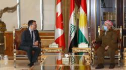 Masoud Barzani hosts Canada's ambassador to Iraq