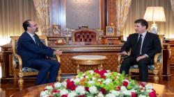 Kurdistan's President welcomes the Jordanian Consul's in Erbil