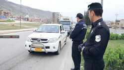 تصوير من الجو لمدينة دهوك خلال حظر التجوال والحجر المنزلي