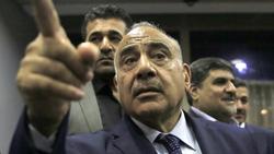 """عبد المهدي يحيل عقوبات واشنطن لجهة """"تبت فيها"""" ويؤكد وجود أوامر قبض بحق وزراء"""
